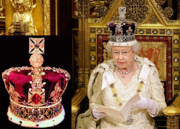 伊丽莎白二世的珠宝10-议会开幕典礼王冠——帝国王冠(Imperial state Crown)-2.jpg