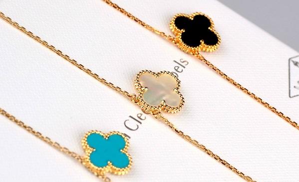 珠宝品牌 四叶草项链是什么牌子的?图片